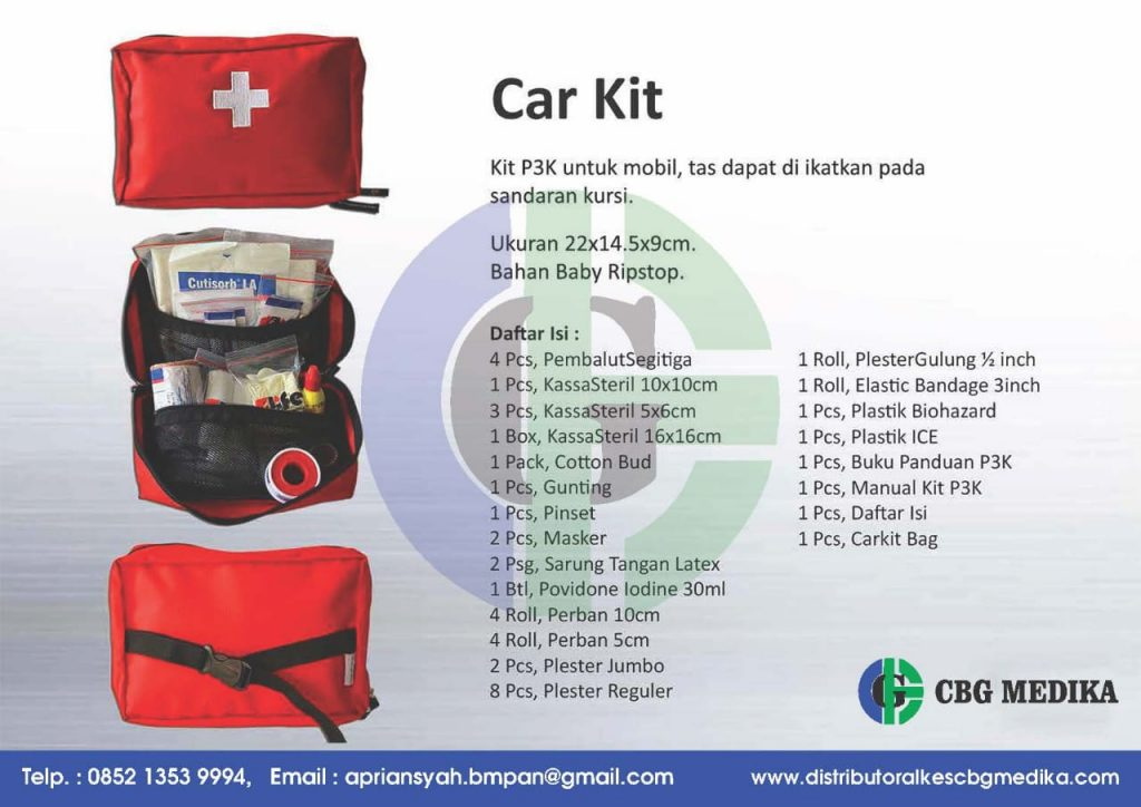 Tas Emergency Kit - Jual Tas Emergency KIT